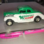 Mountain Dew Express Car (item #124)