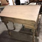 Tall Wooden Desk (item #120)