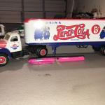 Pepsi Cola Tractor Trailer Truck Semi Drink Pepsi-Cola 5 Cents (item #126)
