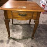 Ethan Allen End Table Side Table (item #123)