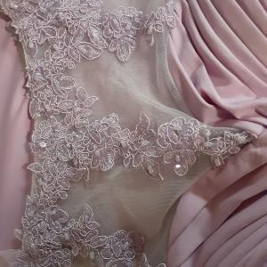 Photo of Ruched Lilac Short Formal