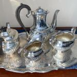 Beautiful Birks Regency Silver Plate Tea Set