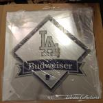 Los Angeles Dodgers Budwiser Bar Mirror