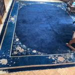 Antique Oriental Rug Has Damage