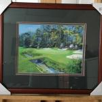 BERNARD WILLINGTON Signed Golf Lithograph. LOT A61