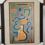 "PAUL KLEE ""The Vase"" Original Lithograph. LOT A64"