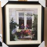 "HEDDY KUN ""The Window"" Original Lithograph. LOT A60"