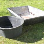 Lot 164 XL Plastic Buckets (40 gal)