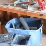 Lot 172 Misc. Tools, Drains - Shed