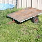 Lot 163 Mini Yard Trailer