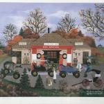 """WOOSTER SCOTT """"The Good Old Days"""" Signed Limited Edition. LOT A39"""