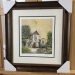 "JACOV NOWOGRODER ""Old Country House"" Signed and Numbered Lithograph. LOT A47"