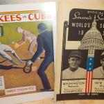 1932  Yankees vs Cubs & 1933 Washington vs Giants.""