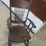 Lot 323 -Vintage Rocking Chair
