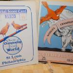 ' 1930 St. Louis vs Philadelphia & 1931 St. Louis vs Oakland A's world series pr
