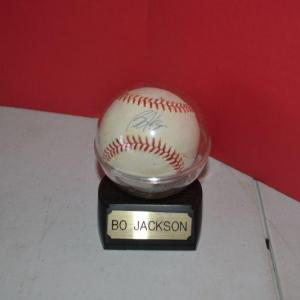 Photo of LOT 397. BO JACKSON SIGNED BASEBALL  WITH NOT CERTIFICATION OR VALIDATION