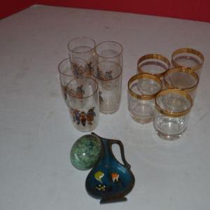 Photo of LOT 396 MISC GLASSES