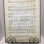 1467 =  Framed Sheet music