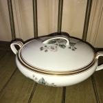 Vintage 5463 by Nortake China Covered Dish with Lid - Item #209