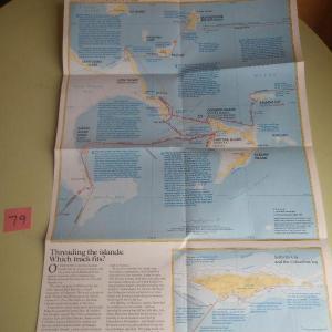Photo of Lot 80 NatGeo Columbus Discovery Map 1986