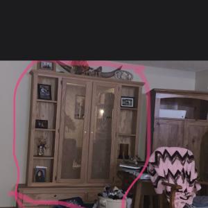 Photo of Wooden gun cabinet