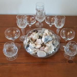 Photo of Lot 17 DR: Glass and shells
