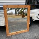 327 Wood Framed Mirror