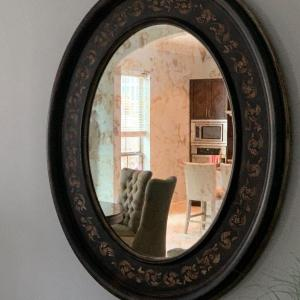 Photo of Oval Wall Mirror - Great for a Hallway or Entry or Living Room