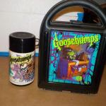 Goosebumps lunch Box with thermos, 1970's.