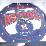 New in Box Houston Astros Wall Clock