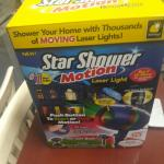 Star Shower Motion Laser Light