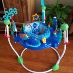 Neptune Ocean's baby bouncer