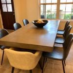 Concrete Dining Table - Like New