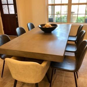 Photo of Concrete Dining Table - Like New