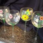 Stemmed Wine Glasses