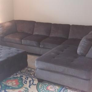Photo of Sectional with Ottoman