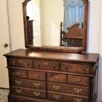 Lot #91  Bedroom Dresser with Mirror - good condition.