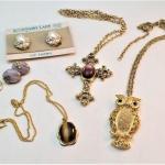 Lot #104  Costume Jewelry Lot