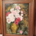 Lot #92  Wonderful Oil on Canvas Impressionist Painting by Listed Artist - Fresh