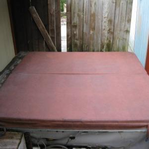 """Photo of Outdoor Hot Tub cover (92"""" x 92"""")"""