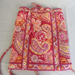 Lot 122 - Pink Vera Bradley Back Pack Purse