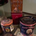 Group of vintage cigar / tobacco  tins