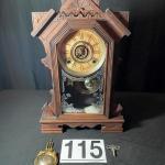 LOT#115LR: William Gilbert Levant Eastlake Clock
