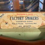 Chambers & Owens Factory Smokers box