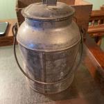 Nice galvanized pail & lid