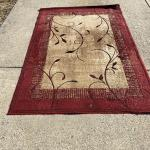 Lot H81: Allen and Roth Decorative Accent Rug  (5 x 7.5ft)