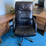 Lot 75:  Office Chair with Swivel Base