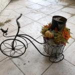 Lot 131. Bicycle plant stand--WAS $45–NOW $33.75