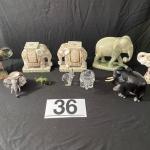 LOT#36D: Asian Elephant Lot
