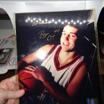 Bryce Drew autographed Basketball Photo File - Go Rockets!